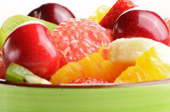 Cup with fruits Stock Photo