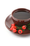 Cup of fruity tea Stock Image
