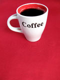 Cup Full of Coffee Royalty Free Stock Photos