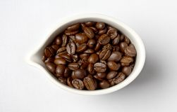 Cup full of colombian coffee beans #2 Stock Photos