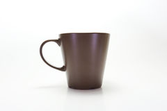 Cup glass brown Royalty Free Stock Photography
