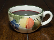 A cup of Gluhwein Royalty Free Stock Photography