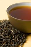 Cup grüner Tee Lizenzfreie Stockfotos