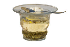 The cup of green tea Royalty Free Stock Image