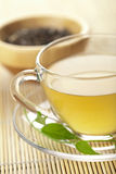 Cup of green tea Royalty Free Stock Photos