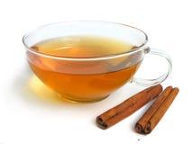 Cup of green tea Stock Photos