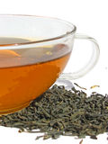 Сup of green tea Royalty Free Stock Images
