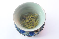 The cup of green tea Royalty Free Stock Photos