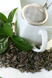 Cup of green tea Royalty Free Stock Photography