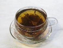 A Cup of green tea Royalty Free Stock Photos