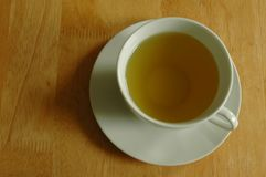 The cup of green tea. Royalty Free Stock Photos