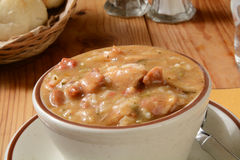 Cup of Gumbo Royalty Free Stock Photos