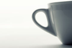 Cup handle Royalty Free Stock Photography