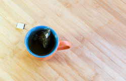 Cup of healthy green tea Royalty Free Stock Photos