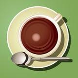Cup heiße Schokolade Lizenzfreie Stockfotos