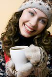 Cup heißer Kaffee stockbilder