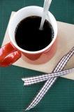 Cup heißer Kaffee Stockfotos