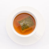 A cup of herb tea for detox Stock Image