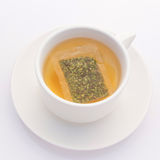 A cup of herb tea for detox Royalty Free Stock Image