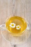 Cup of herbal chamomile tea. Stock Images