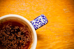 Cup of herbal or fruit tea, hot beverage Stock Images