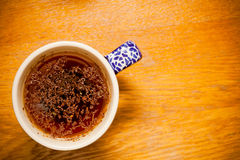 Cup of herbal or fruit tea, hot beverage Stock Photos