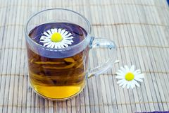 Cup of herbal tea Royalty Free Stock Image