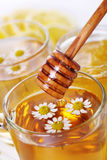 Cup of herbal tea with chamomile Royalty Free Stock Images