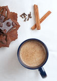 Cup of hot cacao Royalty Free Stock Images