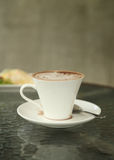 Cup of hot chocolate Royalty Free Stock Photo