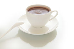 Cup of hot chocolate drink Stock Photography