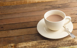 Cup of hot chocolate - hot beverage Royalty Free Stock Photos