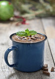 A cup of hot chocolate Stock Image