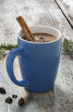 A cup of hot chocolate Stock Photo