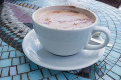 A Cup of Hot Chocolate Royalty Free Stock Photos