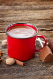 Cup of hot chocolate Stock Images