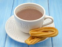 Cup of hot chocolate Royalty Free Stock Image