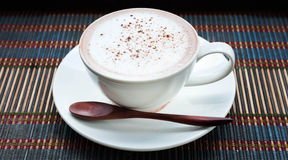 A cup of hot chocolate Royalty Free Stock Images