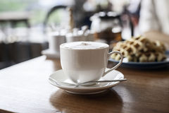 Cup of hot coco Stock Photography