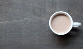 A cup of hot cocoa Stock Photo