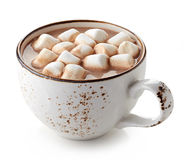 Cup of hot cocoa royalty free stock photos