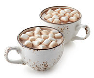Cup of hot cocoa Stock Image