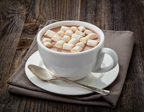 Cup of hot cocoa Stock Photo