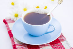 Cup of hot coffee Stock Images