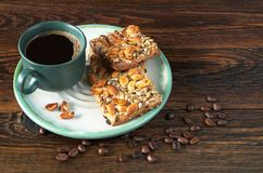 Coffee and cookies Royalty Free Stock Photography