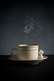 Cup of hot drink Stock Photos