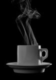 Cup of hot drink Stock Images