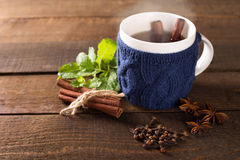 Cup of hot drink Royalty Free Stock Photos
