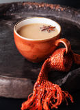 Cup of hot masala tea Stock Images