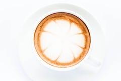 Cup of hot mocha Stock Photos